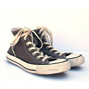 Converse All Star Chuck Taylors Gray Womens 8